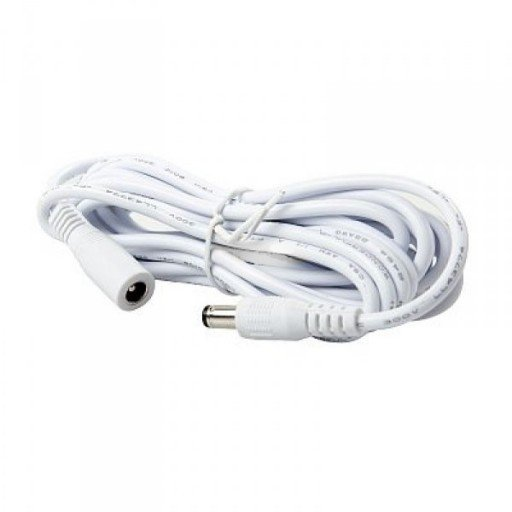 Extension lead 12V 3m white