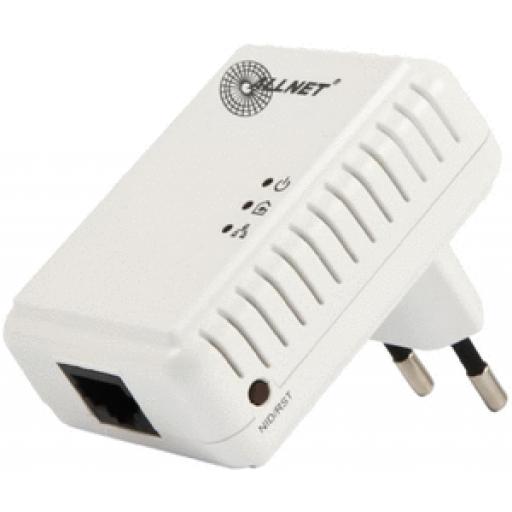 ALLNET Powerline 500Mbit 1er Bridge RJ45, ALL168250 Homeplug AV