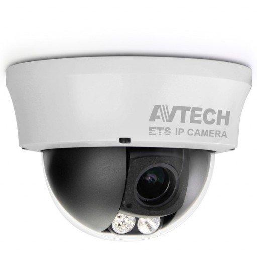 AVTECH AVM332 1.3 Megapixel Dome POE IP-Camera - varifocaal