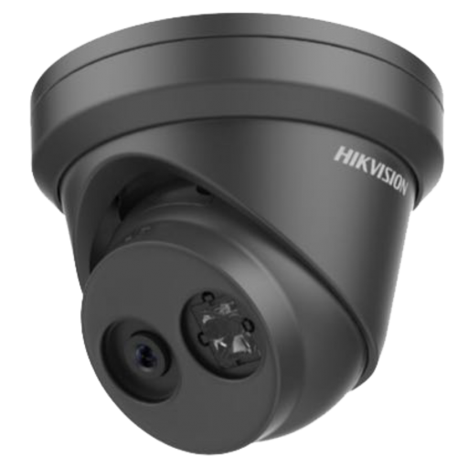 Hikvision DS-2CD2385FWD-I (Black) - 8 MP Network Turret Camera (2.8mm)