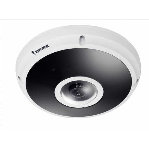 Vivotek FE9382-EHV - Fisheye Network Camera - H.265 - 5MP - Surround View - 20M IR - WDR Pro - IP66 - IK10 - Defog