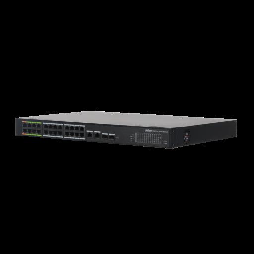 Dahua 24 Port ePoE Switch, DH-LR2226-24ET-360 - 24x PoE (8x ePoE) - 360W