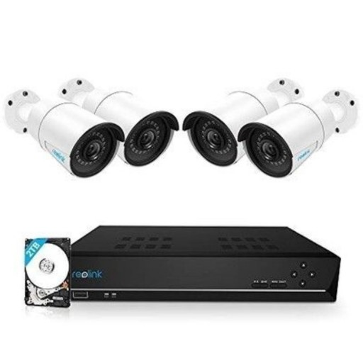 Reolink RLK8-410B4 - 8-Channel 5MP PoE Security Camera System
