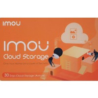 IMOU by Dahua - 1 Year Prepaid Cloud Storage - 30 Days recording - Voucher