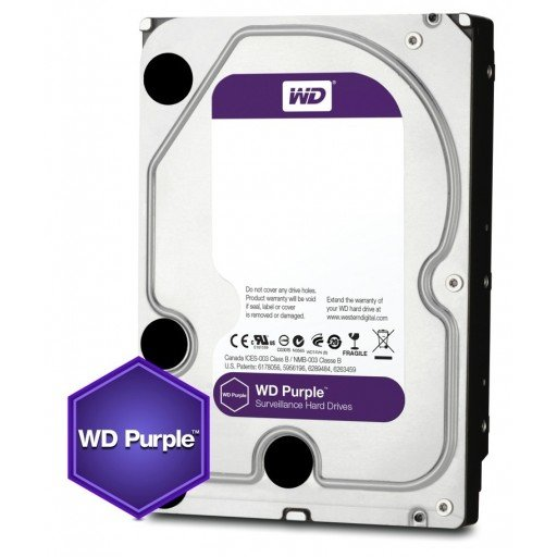 Western Digital PURPLE NAS Hard Drive 2TB