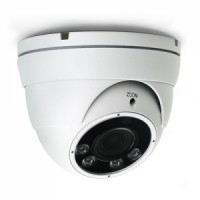 AVTECH DGM2323 - 2MP IR Dome IP Camera - Motorized vari-focal lens of f2.8 ~ 12 mm