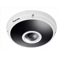Vivotek FE9382-EHV - Fisheye Network Camera - H.265 - 5MP - Surround View - 20M IR - WDR Pro - IP66 - IK10 - Defog