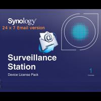 Synology Camera License, 1 camera - 24/7 directly sent per E-mail
