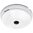 Vivotek FE8191 Fixed Dome Camera - 12MP - 12fps - 180° / 360°