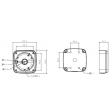 Dahua DH-PFA123 Montage box
