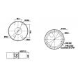 Dahua DH-PFA131 Montage box montage basis voor de HDB3200C/HD2100 Series