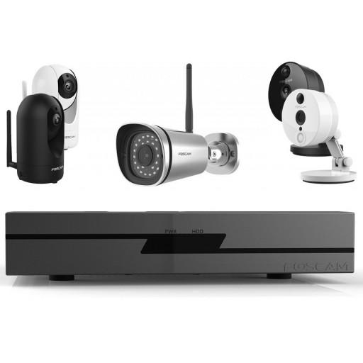 Maak een bundel - Foscam FN3109H (9 kanalen) - Foscam WiFi camera's - 10% bundel korting