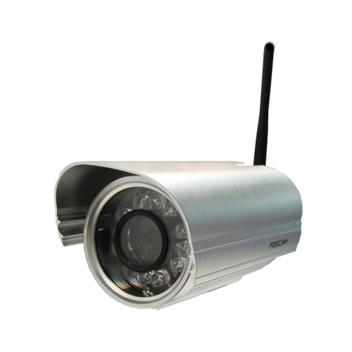 Foscam FI9804W WiFi HD outdoor camera met 20 meter nachtzicht