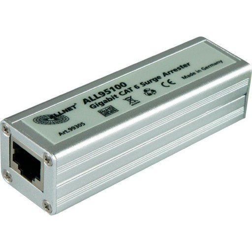 Allnet ALL95100 CAT 6 Gigabit Bliksembeveiliging