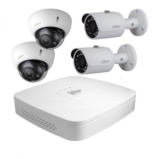 Maak een bundel - Dahua DH-NVR4104-P-4KS2 (4 kanalen) - Dahua POE camera's - 5 tot 10% bundel korting