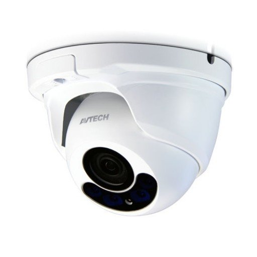 AVTECH DGM1304 - 2MP IR Dome IP Camera - Motorized vari-focal lens of f2.8 ~ 8.0 mm