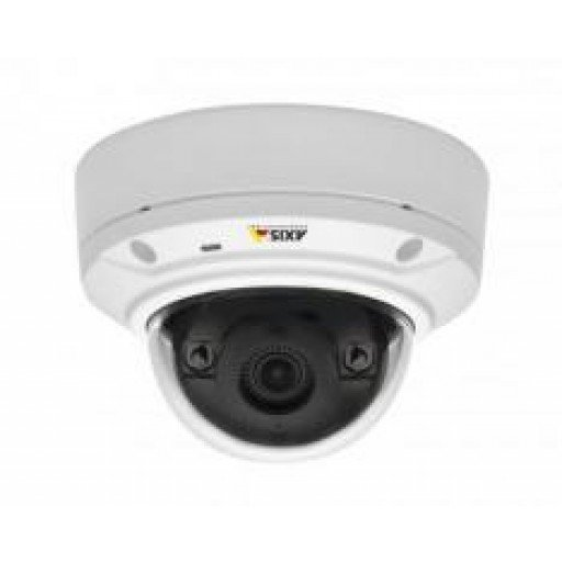 Axis M3024-LVE Fixed Dome 1MP Vandalproof Outdoor HDTV 720p