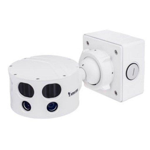 Vivotek MS8392-EV - Multiple Sensor Netwerk Camera - 12MP - 180° Panoramazicht