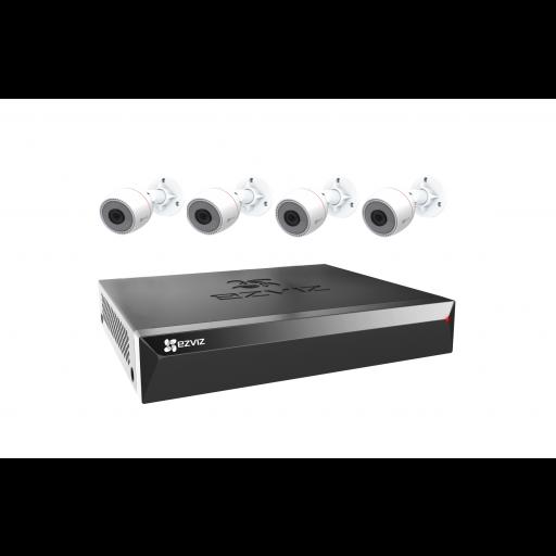 Maak een bundel: EZVIZ by Hikvision X5S- 4 kanaals PoE NVR - 5% Bundel korting