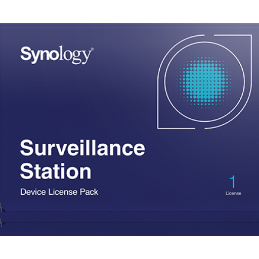 Synology Camera License, 1 device (licentie verstuurd per PostNL)