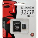 Kingston MicroSD met adapter 32GB (Class 10)