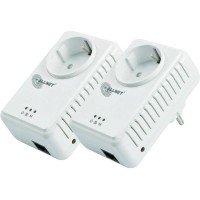 ALLNET Powerline 500Mbit  Starterkit Bridge RJ45, ALL168255 Homeplug AV Passthrough