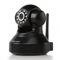 Foscam FI9816P Zwart HD Plug&Play indoor camera +SD record