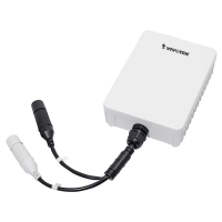 Vivotek 1-Port Outdoor FE PoE Extender (48W)