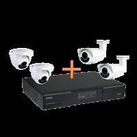 Maak een bundel - AVTECH 408P NVR (8 kanalen) - AVTECH 2MP Dome of Bullet POE camera's - 5 tot 20% bundel korting