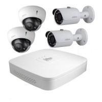 Maak een bundel - Dahua DH-NVR4108-P-4KS2 (8 kanalen) - Dahua POE camera's - 10% bundel korting