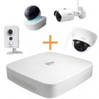 Maak een bundel - Dahua DH-NVR4108 (8 kanalen) - Dahua WiFi camera's - 10% bundel korting