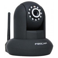 Foscam FI9821P zwart WiFi HD Plug & Play indoor camera + SD-opname