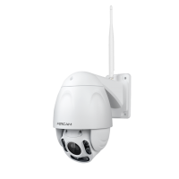 Foscam FI9928P 4x zoom 2MP draai- en kantelbare (PTZ) WiFi camera met nachtzicht