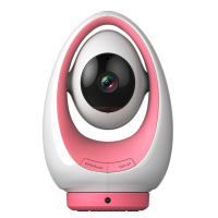 Foscam FosBaby P1 720P HD Wireless Baby Monitor Roze