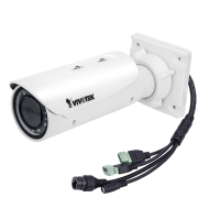 Vivotek IB836BA-HT - Bullet Network Camera - 2MP - 30M IR - IP66 - Cable Management - Defog - Varifocal - Remote focus