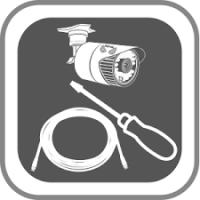 Installatieservice Batterij Binnen of Buiten Camera