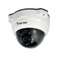 Vivotek FD8367-TV - Remote Focus - Fixed Outdoor Dome 1080 HD SD 2 Megapixel Netwerk IP Camera Nachtzicht
