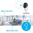 EZVIZ by Hikvision Mini O 180 - 1080P - Nachtzicht - 180° Beeldhoek - WiFi IP Camera