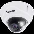 Vivotek FD836B-HTV - Remote Focus - Vari-Focaal - WDR - Fixed Outdoor Dome 1080P HD SD 2 Megapixel Smart IR Network IP Camera