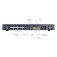 Vivotek ND9441P - H.265 16-kanaals Plug & Play NVR + 16 PoE poorten