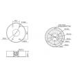 Dahua DH-PFA130 Montage box montage basis voor de IPC-HFW31/32/33xxC