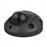 Hikvision DS-2CD2545FWD-IS - 4MP IP66 WDR Mini Flat Dome Network Camera - Black (2.8mm)
