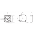 Dahua - DH-PFA123 - Mounting Junction Box