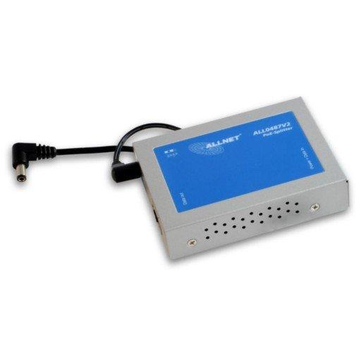 ALLNET High Power PoE Gigabit Splitter to IEEE802.3at/af Standard ALL0487V2