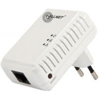 ALLNET Powerline 500Mbit 1er Bridge RJ45, ALL168250 Homeplug AV