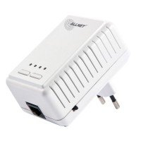 ALLNET Powerline 500Mbit Bridge RJ45 + 300Mbit WiFi AP, ALL1682511
