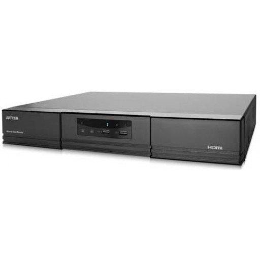AVTECH AVH1109 - 8 CH NVR - HDMI out - 4K - Push Video - on board POE switch