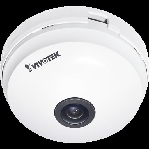 Vivotek FE8180 - Fixed Dome Camera - 5MP -30FPS - 360 Surround View