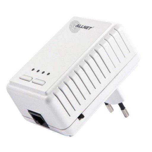 ALLNET Powerline 500Mbit Bridge RJ45 + 300Mbit WiFi AP, ALL1682511