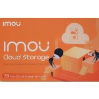 IMOU by Dahua - 1 Year Prepaid Cloud Storage - 30 Days recording - Voucher